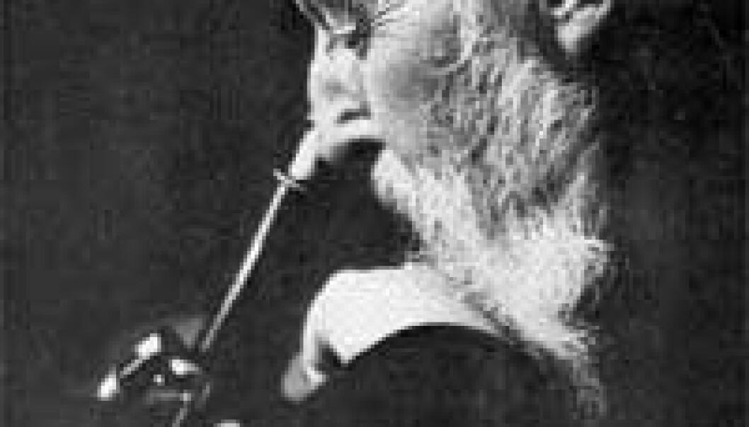 """""""Lapralege Gerhard Henrik Armauer Hansen injiserte en nål med en annens pasients lepravev inn i øyet på en frisk pasient."""""""