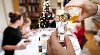 Fire av 10 kvinner har droppet alkohol til nyttår ved feiring med barn