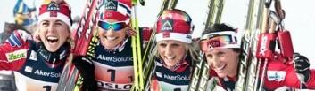 Det ble norsk gullfest under Ski-VM 2011. (Foto: Stian Broch, Ski-VM 2011)