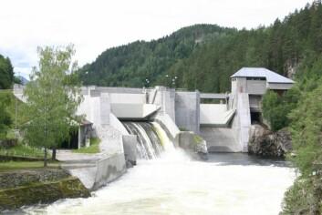 Vannkraftverk i Tinnelva. (Foto: Ånund Killingtveit, NTNU/CEDREN)