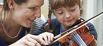 Jo yngre du er når du starter med musikk, jo flinkere blir du