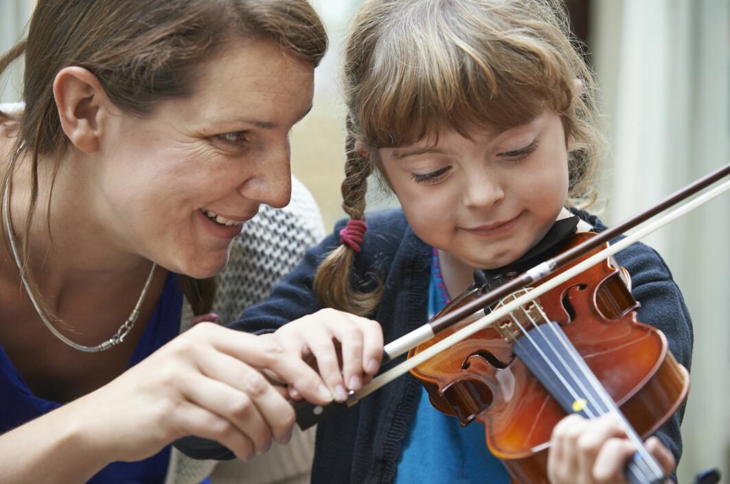 Det mer enn bare mengden øving som er avgjørende for å bli god i et instrument, ifølge ny svensk forskning.