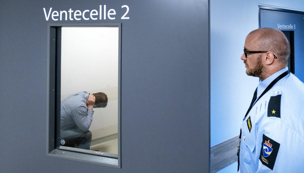 Tre av fire hadde et rusproblem før de startet soning i norske fengsler, viser en ny studie. Bildet er fra Kriminalomsorgen ved Romerike fengsel.