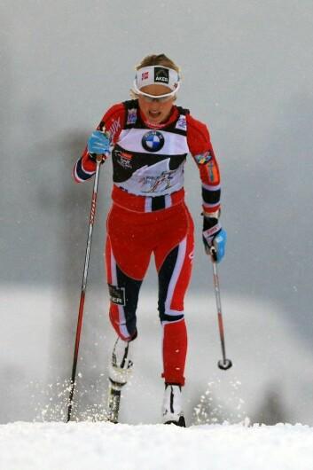 Therese Johaug. Selv om de norske langrennsløperne høster medaljer i OL har de fortsatt mye å hente fra sine egne erfaringer, mener forsker. (Foto: Colourbox)