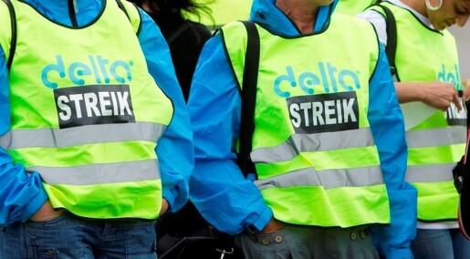 Staten stopper ikke streiker som før