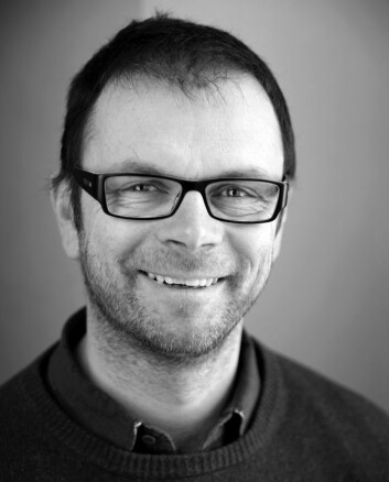Professor Håvard Hegre. (Foto: Anna-Julia Granberg, Blunderbuss)