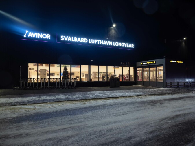 The airport in Longyearbyen is a surprisingly large source of fluorinated compounds.