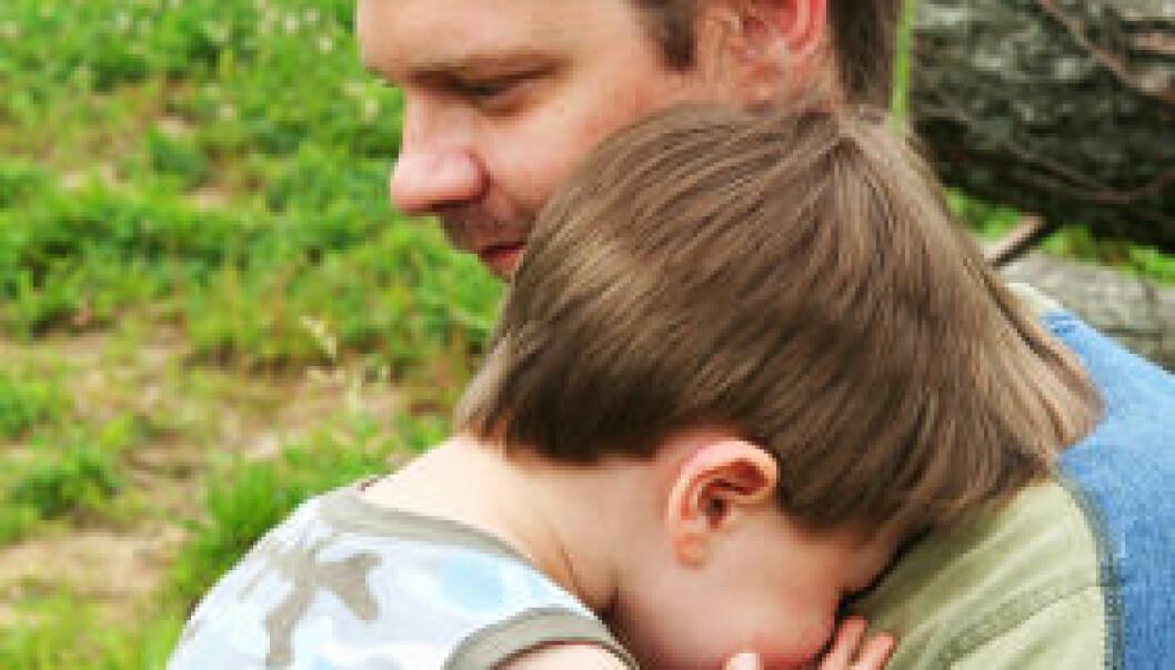 Foreldre bør ikke gi felles trøst