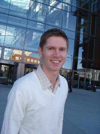 Førsteamanuensis Jon H. Fiva ved Handelshøyskolen BI. (Foto: Audun Farbrot)
