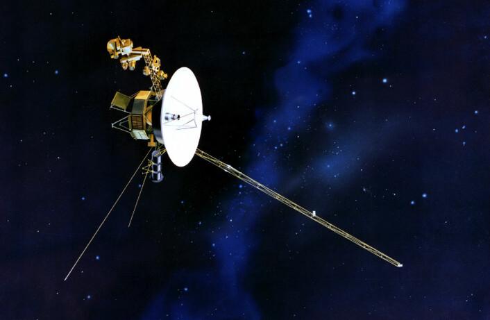Voyager-romsonden. (Foto: (Illustrasjon: NASA))