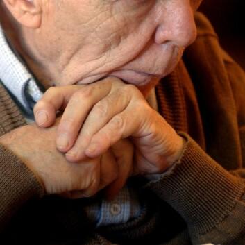 Eldre med depresjoner et økende problem. (Illustrasjonsfoto: Colourbox)