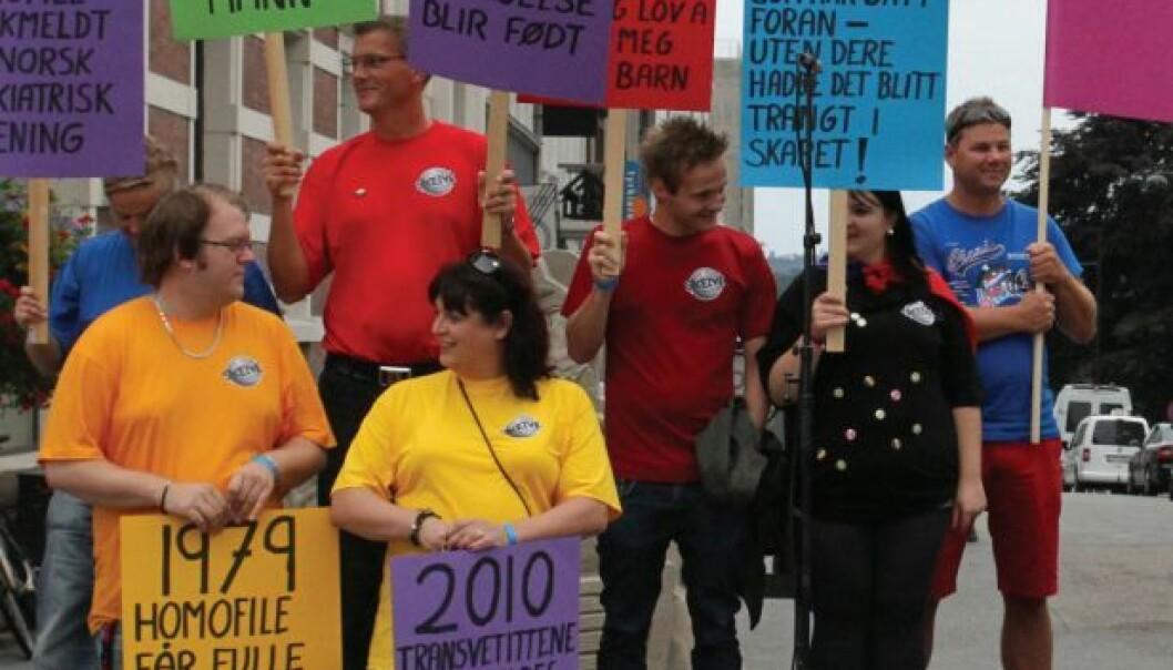 Mye har skjedd i Norge når det gjelder holdninger mot homofile, men fortsatt diskrimineres gruppen. Fafo