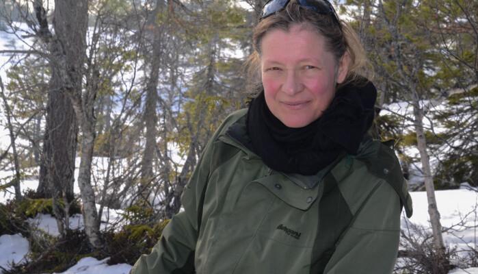 Louise Hansen, forsker ved Norges Geologiske Undersøkelse.