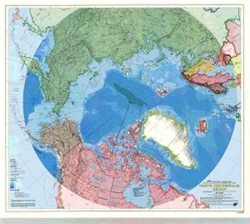 """""""Arktis består av et middelhav omgitt av store landmasser, og åtte nasjoner tilstøter det arktiske området."""""""