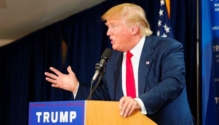 Donald Trump har en splittende personlighet og fremgangsmåte.