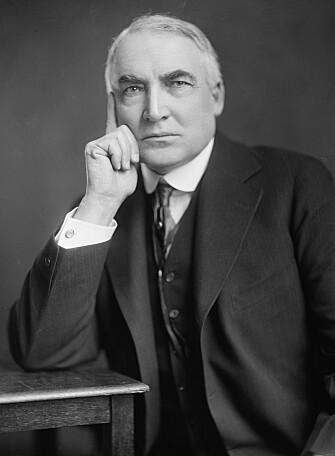 Warren G. Harding var populær da han døde. I etterkant dukket mye rart opp.