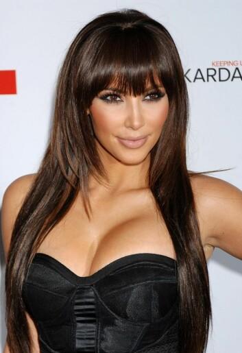 Allestedsnærværende og berømt for - hva? Uansett vil Kim Kardashian sannsynligvis fortsette å posere for kameraene i mange år fremover. (Foto: Colourbox)