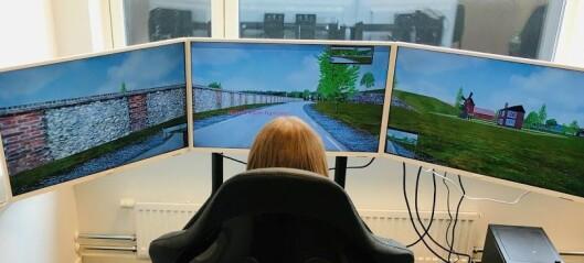 – Bilkjøring i simulator gir bedre trafikkopplæring