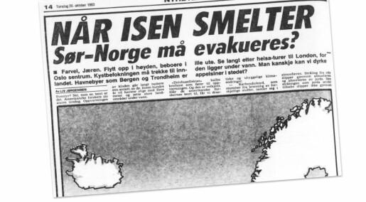 Hvorfor varslet ikke norske forskere om klimaendringene tidligere?