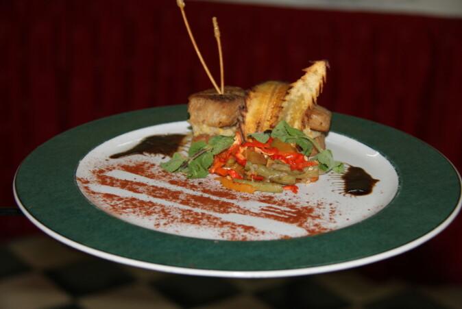 Stekt cobia var en av variantene som ble tryllet frem av kokkene i Varadero.