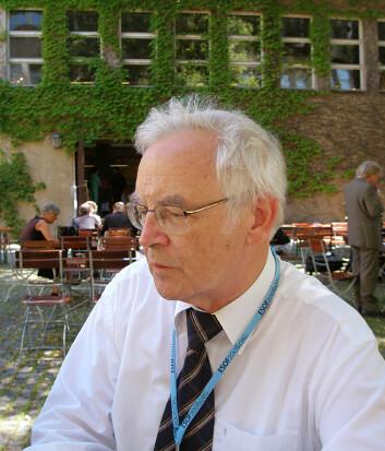 """Peter Neuner, professor i teologi. Foto: Didrik Søderlind."""