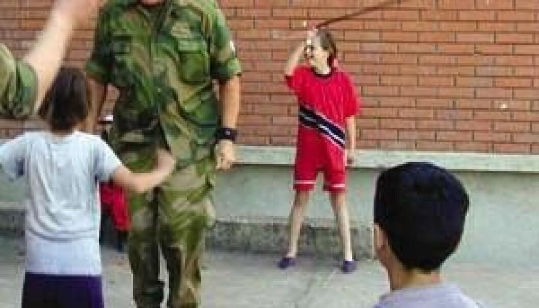 Den moralske soldat