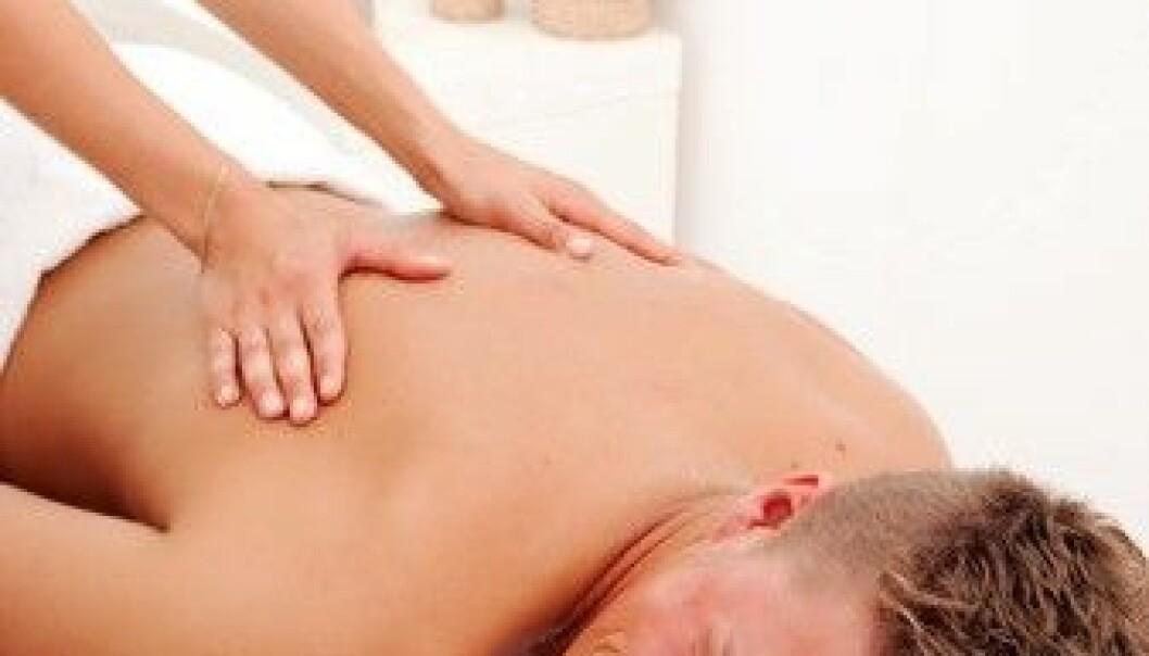 Massasje reduserer stress og angst
