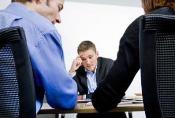 Jobbintervjuet kan være enda vanskeligere for en person som stammer. (Foto: Colourbox.com)
