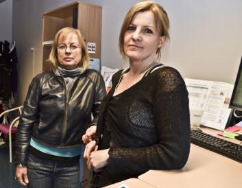 Therese Andrews (t.v.) og Cecilie Høj Anvik. Foto: Nordlandsforskning