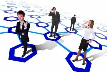 Sosiale nettverk på jobben kan forberde organisasjonens prestasjoner. (Foto: (Illustrasjon: www.colourbox.no))