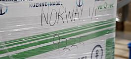 Moderna-vaksinen har ankommet Norge