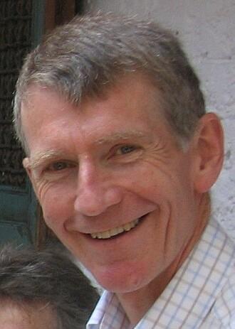 Den britiske historikeren Tony Insall.