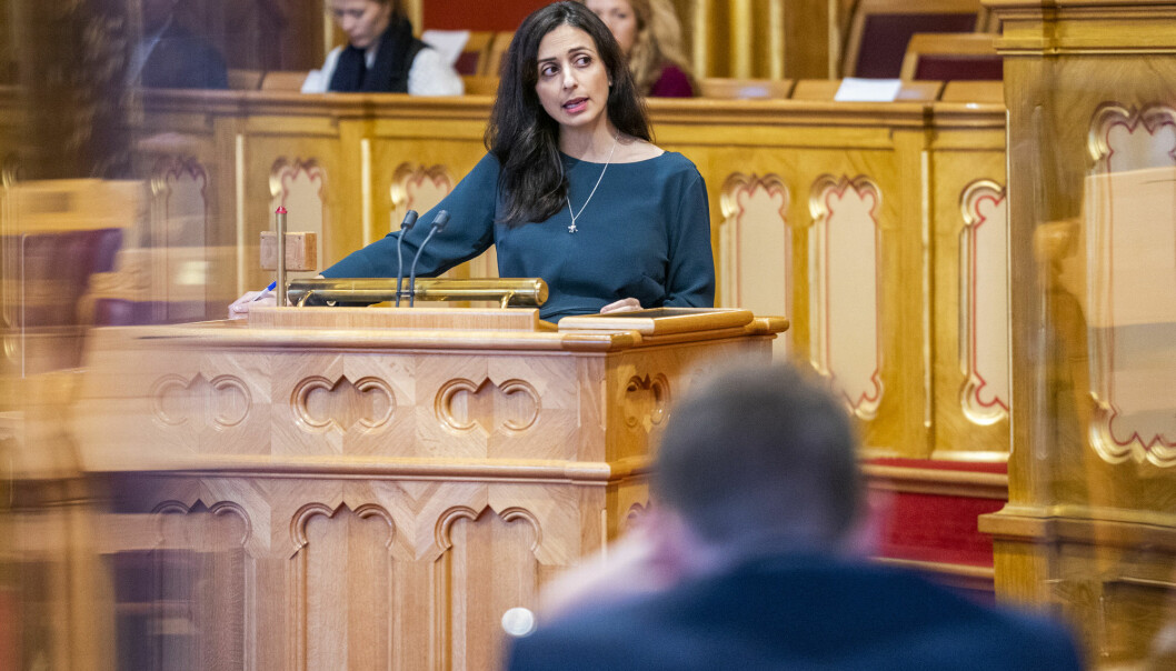 In the two Facebook groups Katrine Fangen has followed, Muslim women with political power are seen as representatives of a 'stealth jihad'. It does not help if they in the public stand for secular values, such as deputy leader of the Labour Party, Hadia Tajik
