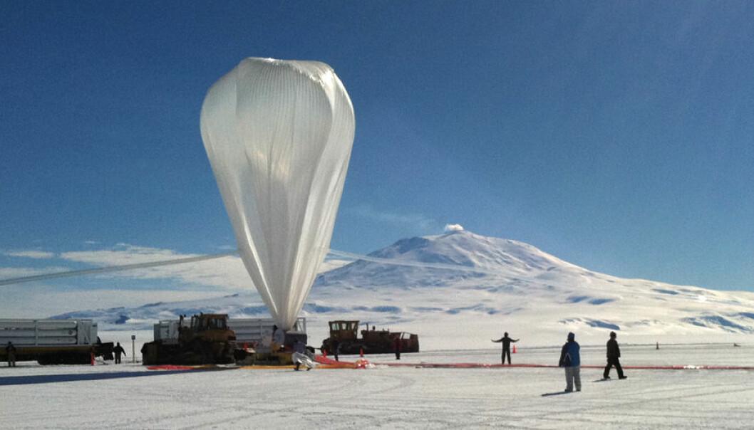 Romballonger på Sydpollandet