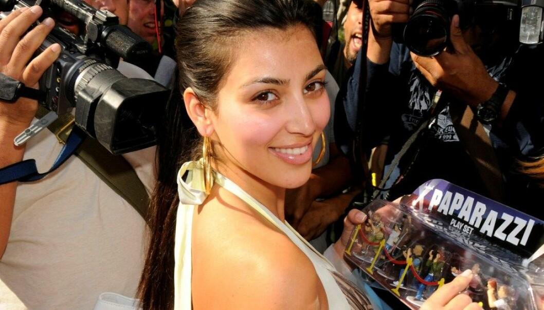 Kim Kardashian er blitt såpass kjent at hun sannsynligvis er kommet inn i medienes selvforsterkende sirkel. Det vil sikre hennes berømmelse i årevis fremover, tror forskerne. Colourbox