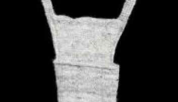Forhysa ble strikket av den fineste ullen fra lammets hode og ble brukt som en form for suspensorium. Denne kjærlighetsgaven viste at både giveren og mottakeren mente alvor med forholdet. Anne-Lise Reinsfelt/Norsk Folkemuseum