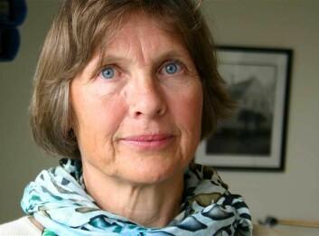 Venke F. Johansen er bekymret for effekten av alle de rosa brystkreftkampanjene. (Foto: Ida Irene Bergstrøm)