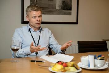 Bjørn Erik Sættem, leder i Norsk interesseforening for stamme. (Foto: (Pressebilde))