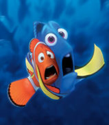 Forskernes modell har fått navn etter filmen Finding Nemo, der Marlin, klovnefisken til venstre, haiker havstrømmene.
