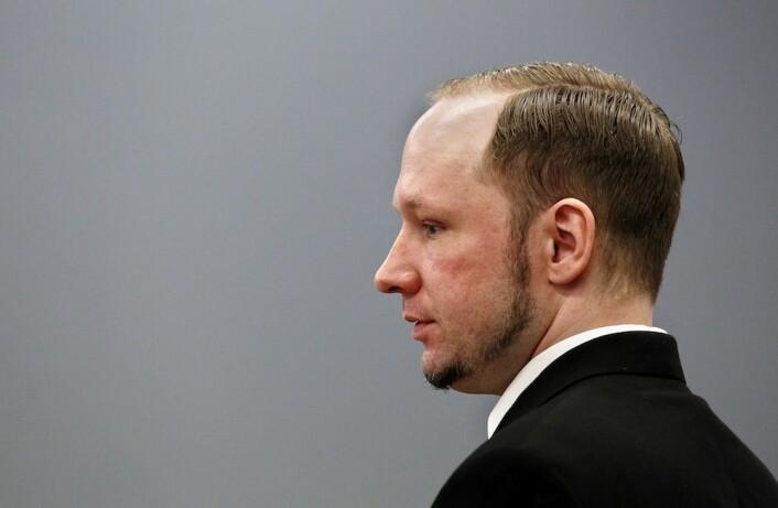 """""""Breiviks oppførsel i tiden før han bombet regjeringskvartalet og gjennomførte massakren på Utøya er nesten en blåkopi av den oppførselen forskerne mener man bør være på utkikk etter."""" (Foto: Erlend Aas/NTB Scanpix)"""