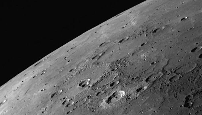 Visse områder av Merkur består av store, relativt glatte områder.