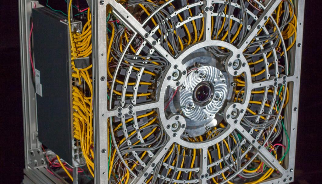 AWARE-2-kameraet. Duke University Imaging and Spectroscopy Program