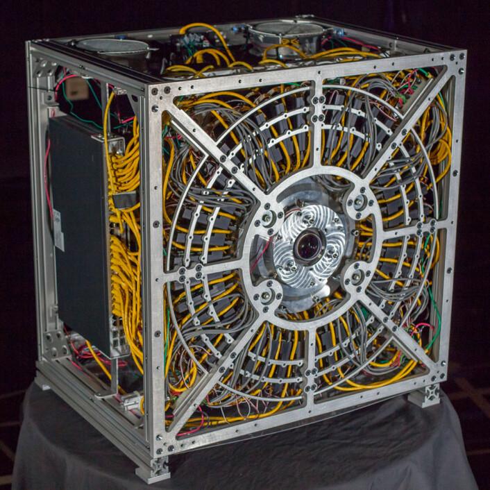 AWARE-2-kameraet. (Foto: Duke University Imaging and Spectroscopy Program)