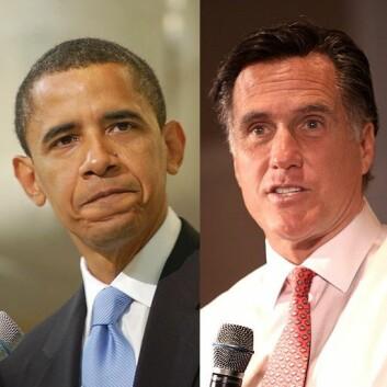 Barack Obama og Mitt Romney kjemper om å bli USAs neste president. (Foto: Elizabeth Cromwell/Gage Skidmore/Wikimedia Creative Commons)