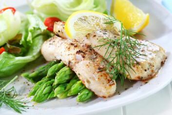 Det å spise fisk øker kanskje den betennelseslignende tilstanden som fører til blodpropper. (Foto: Colourbox)