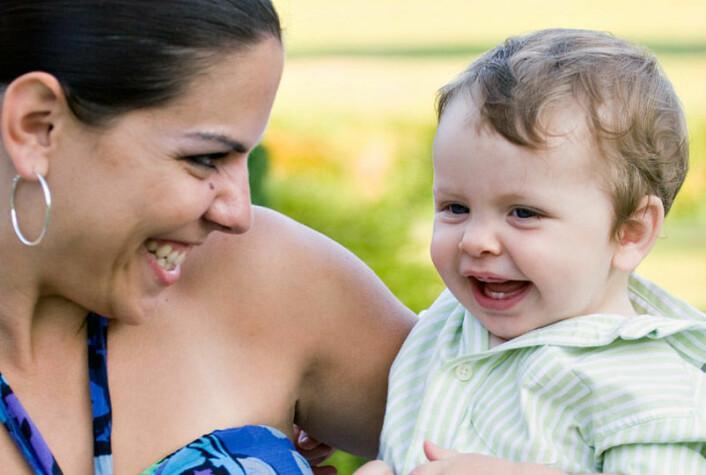 Mødre og barns psykiske helse er tett forbundet, viser ny forskning. (Illustrasjonsfoto: www.colourbox.no)