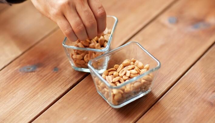 Allergi mot peanøtter og andre nøtter er blant de vanligste allergiene, ifølge Astma- og allergiforbundet.