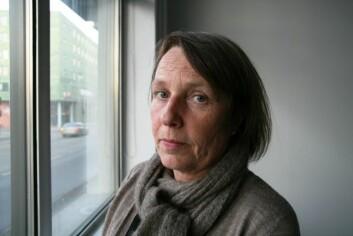 – Det var to ulike kulturer som møttes. Kunstnerne ønsket å la ting være åpent, mens forskerne ønsket å konkludere, sier Christel Sverre, førsteamanuensis hos Kunstakademiet i Trondheim ved NTNU. (Foto: Anne Sliper Midling)