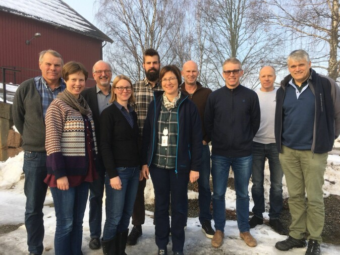 Fokusgruppe med bønder i Lier.