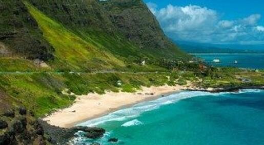 Vulkaner på Hawaii er formet som pannekaker
